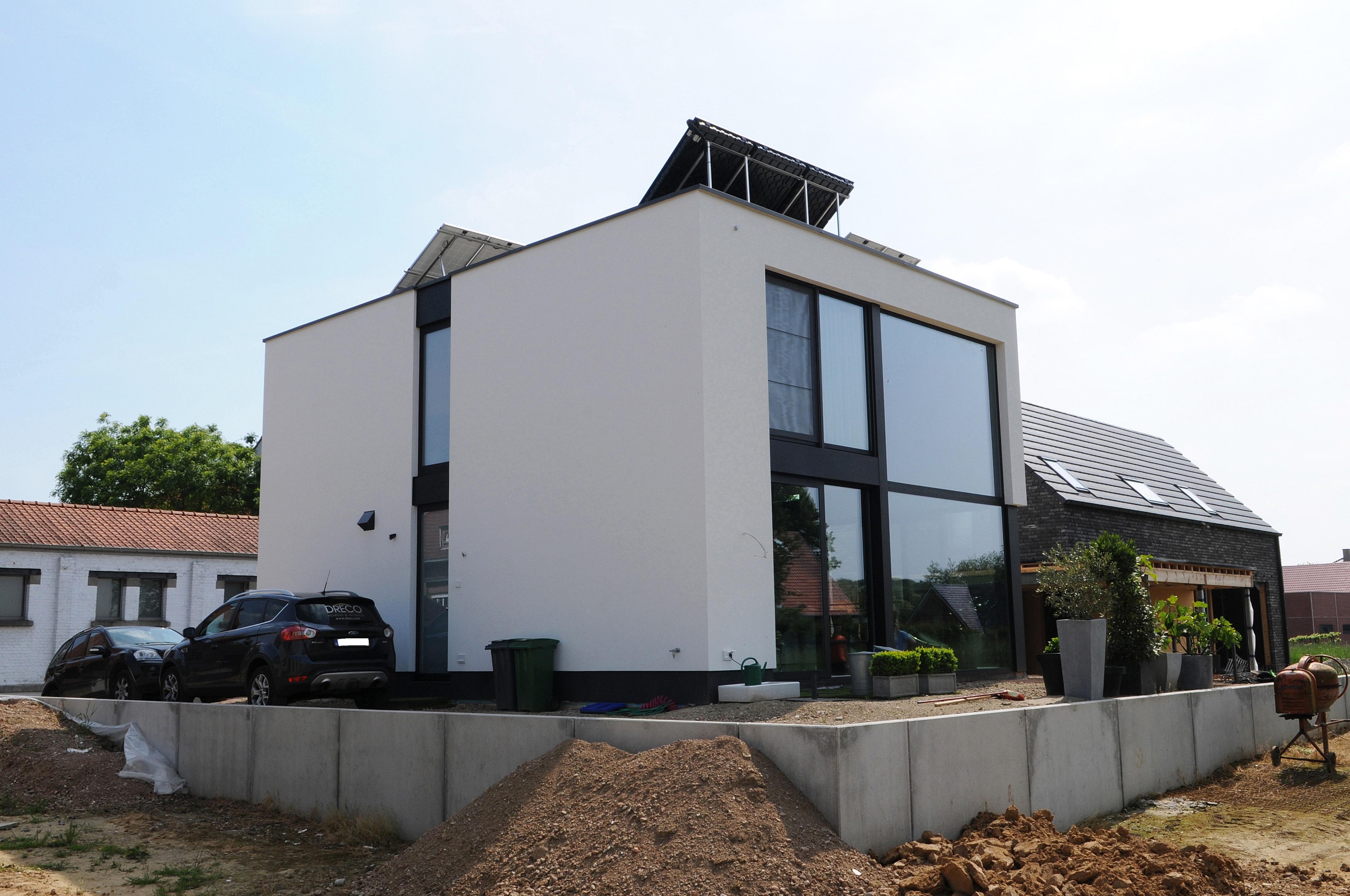 Finest de woning bdw te boutersem is een prefab for Kostprijs woning bouwen